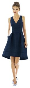 Alfred Sung Midnight Blue Alfred Sung - Style D588 Midnight Blue Dress