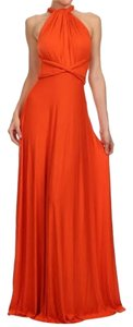 Orange Maxi Dress by Estam
