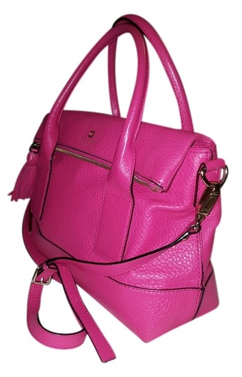Preload https://img-static.tradesy.com/item/8441953/kate-spade-cross-body-bright-pink-leather-tote-0-2-540-540.jpg