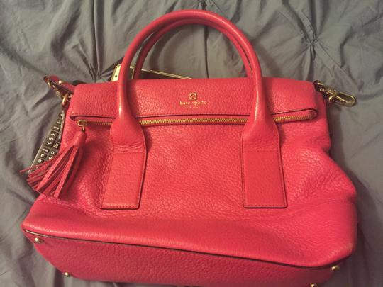 Kate Spade Work Tote in Bright Pink Image 5