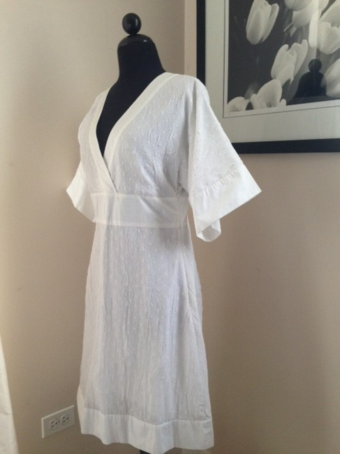 Diane von Furstenberg short dress White on Tradesy