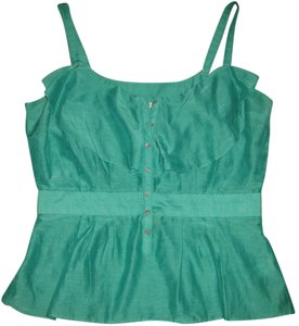 7 For All Mankind Top Green