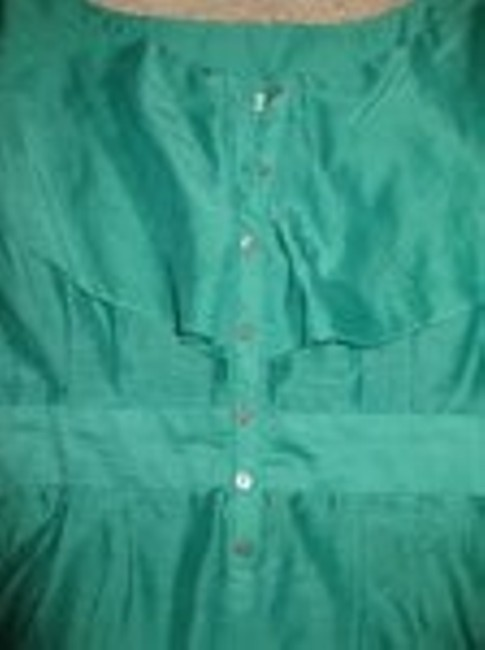 7 For All Mankind Top Green Image 1
