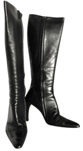 Gucci #gucciboots #gucci #boots Black Leather with Black Leather Stitching Boots