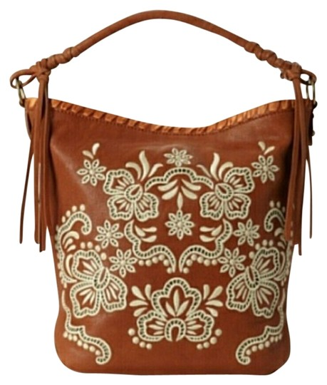 Preload https://item3.tradesy.com/images/isabella-fiore-luxe-embroidered-tanwhite-leather-hobo-bag-844277-0-0.jpg?width=440&height=440
