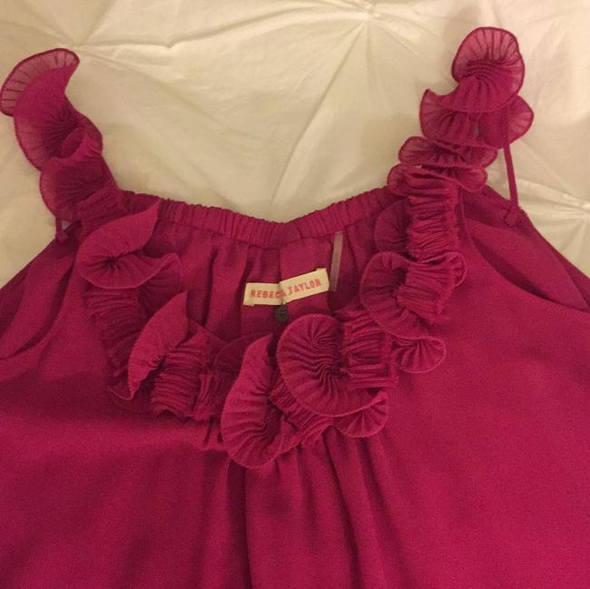 Rebecca Taylor Top Bright pink Image 1