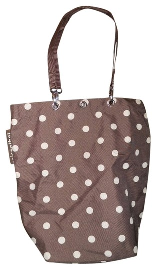 Preload https://img-static.tradesy.com/item/844351/brown-and-white-polyester-tote-0-0-540-540.jpg