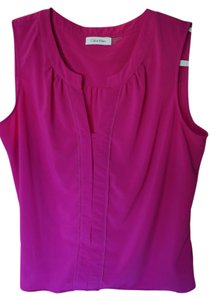 Calvin Klein Shell Top fuschia