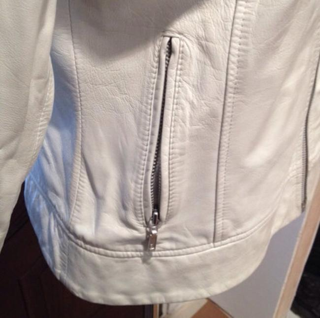 Zara Off White Jacket Image 5