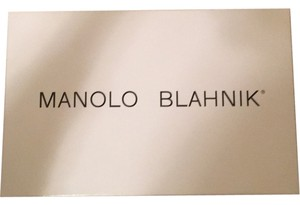 Manolo Blahnik Manolo blahnik Hangisi Shoes Box