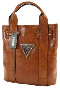 Guess Purse Tote in BRIGHT CANDY COGNAC