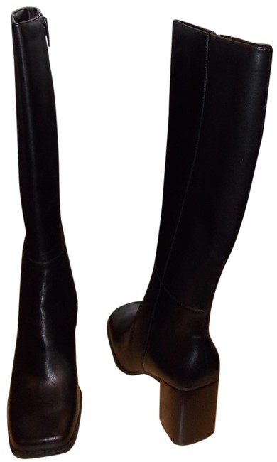 Croft & Barrow Black Sissy Boots/Booties Size US 7.5 Regular (M, B) Croft & Barrow Black Sissy Boots/Booties Size US 7.5 Regular (M, B) Image 1