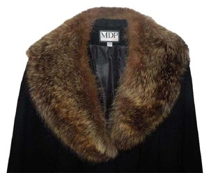 Mario De Piinto Fur Wool Fur Coat