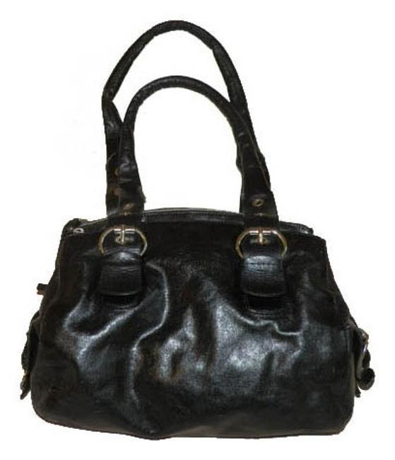 Gianni Chiarini Black Genuine Leather Shoulder Bag Gianni Chiarini Black Genuine Leather Shoulder Bag Image 1