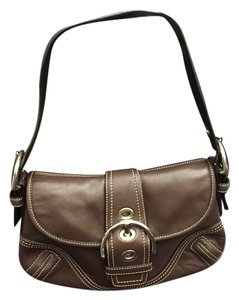 Coach Soho Buckle Leather Shoulder Bag
