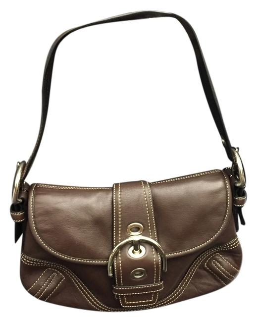 Coach Soho Brown Leather Shoulder Bag Coach Soho Brown Leather Shoulder Bag Image 1