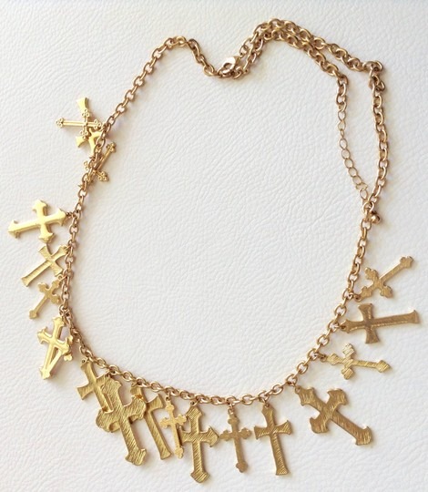 Other Gold Adjustable Necklace Image 8