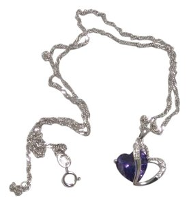 Medira Purple Heart Necklace