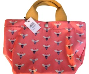 Fossil Tote in Pink/Salmon