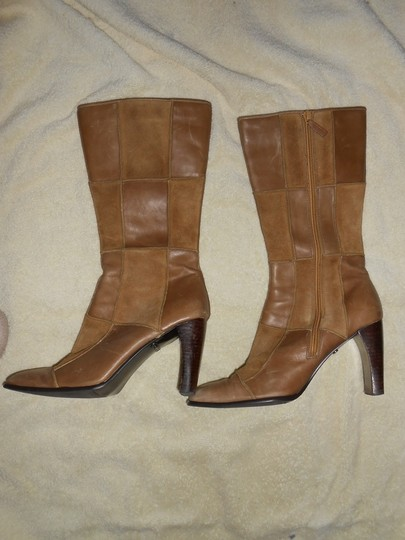 Me Too Vintage Suede Brown/Tan Boots Image 2