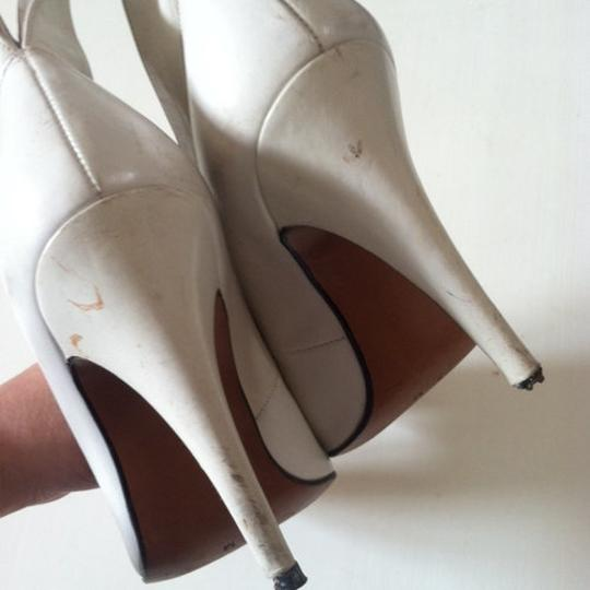 totar Special Winged Size 5 white Pumps Image 3