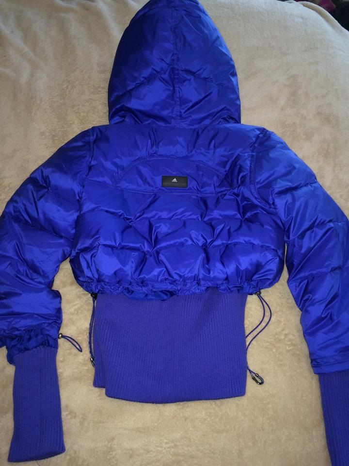 ebc709650d5 Stella McCartney Cobalt Blue Adidas Padded Puffer Ski Winter Sport ...