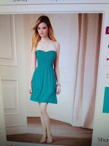 Alfred Angelo Jade Chiffon Style 7278s Casual Bridesmaid/Mob Dress Size 4 (S)