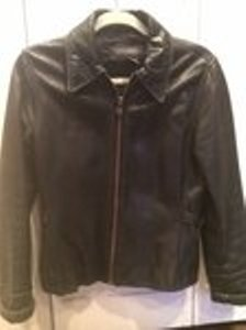 Banana Republic Leather Moto Motorcycle Jacket