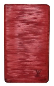 Louis Vuitton Louis Vuitton Wallet Passport Case Red
