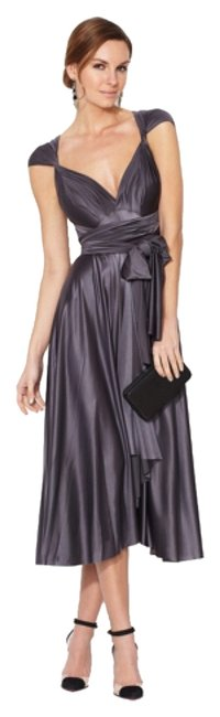 Item - Lead Signature Satin Mid-length Cocktail Dress Size OS (one size)
