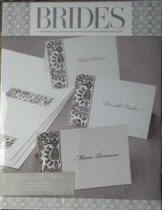 200 Brides Black & White Place Cards