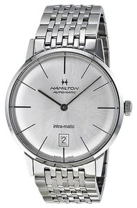 Hamilton Hamilton Intra-Matic Silver Dial Mens Watch H38455151