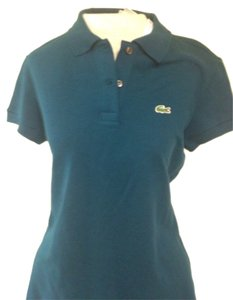 Lacoste T Shirt Green/blue