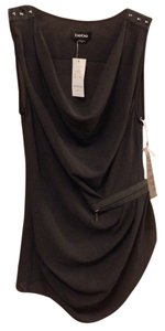 bebe Top Dark Grey