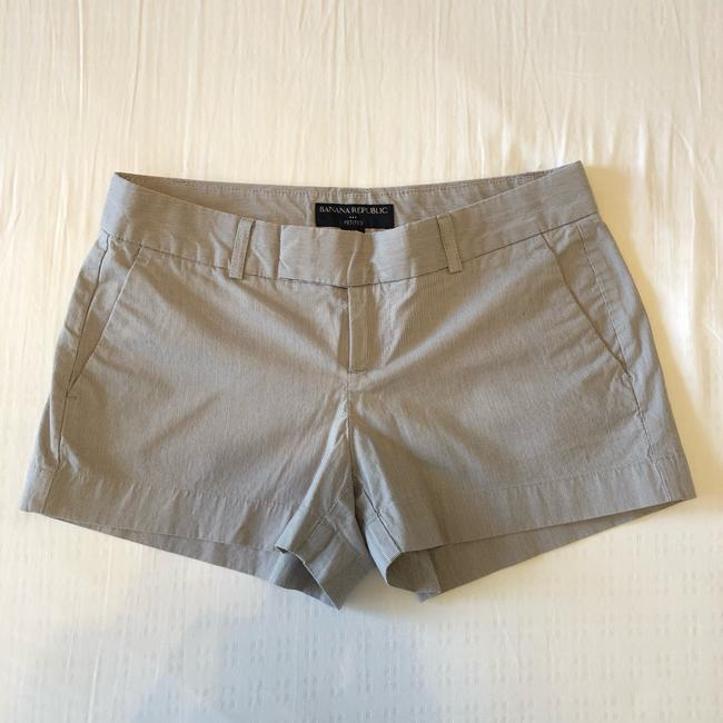 Banana Republic Jean Express Jean Booty Daisy Dukes Jean Mini/Short Shorts Navy and Gray Image 0