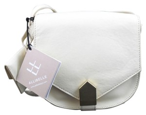 Allibelle Lemon Ice Leather Small Cross Body Bag