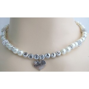 Fashion Jewelry For Everyone Ivory Children Personalized Christmas Necklace
