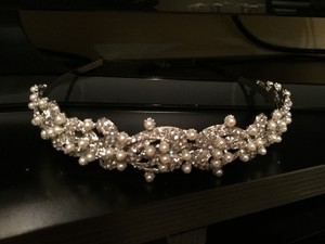 Swarovski Rhinestones And Pearls Headpiece