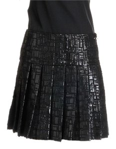 Chanel Mini Skirt Black