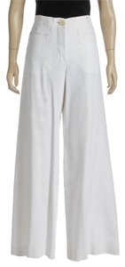 Chloé Wide Leg Pants White