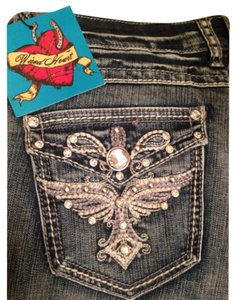 Wired Heart Boot Cut Jeans