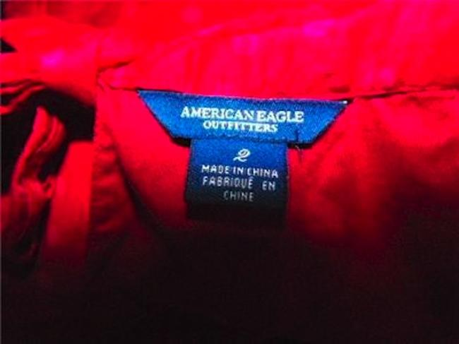 American Eagle Outfitters Size 2 P36 Small Top FUSCIA Image 3