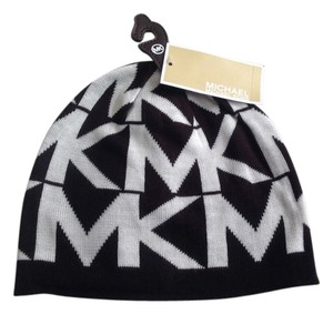 Michael Kors New Michael kors MK logo hat black white