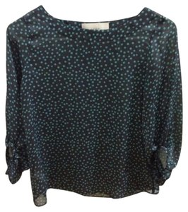 Ann Taylor LOFT Top Navy