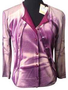 Jean-Paul Gaultier Button Up Button Down Shirt purple