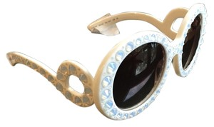 Prada Prada,Ornate,Ivory,Sunglasses