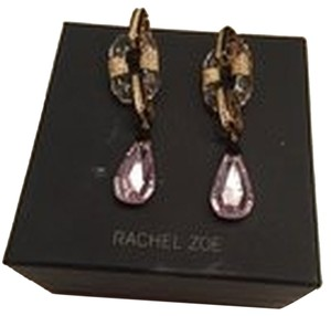 Rachel Zoe Gorgeous Crystal Modern Drop Earrings