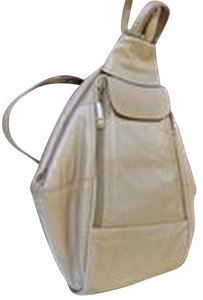 Leather Clean Backpack