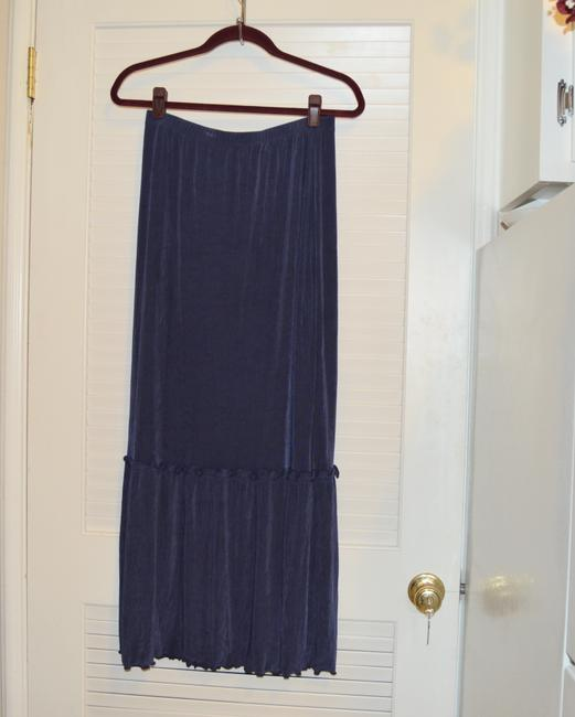 Citiknits Maxi Skirt Blue Image 3