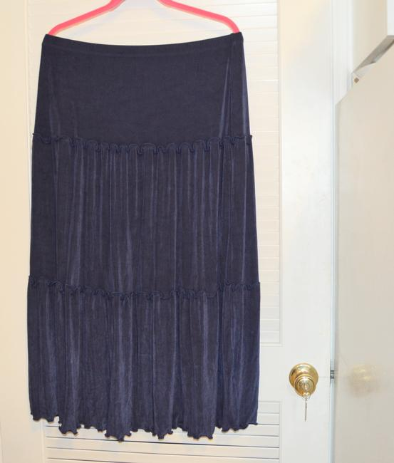 Citiknits Maxi Skirt Blue Image 5